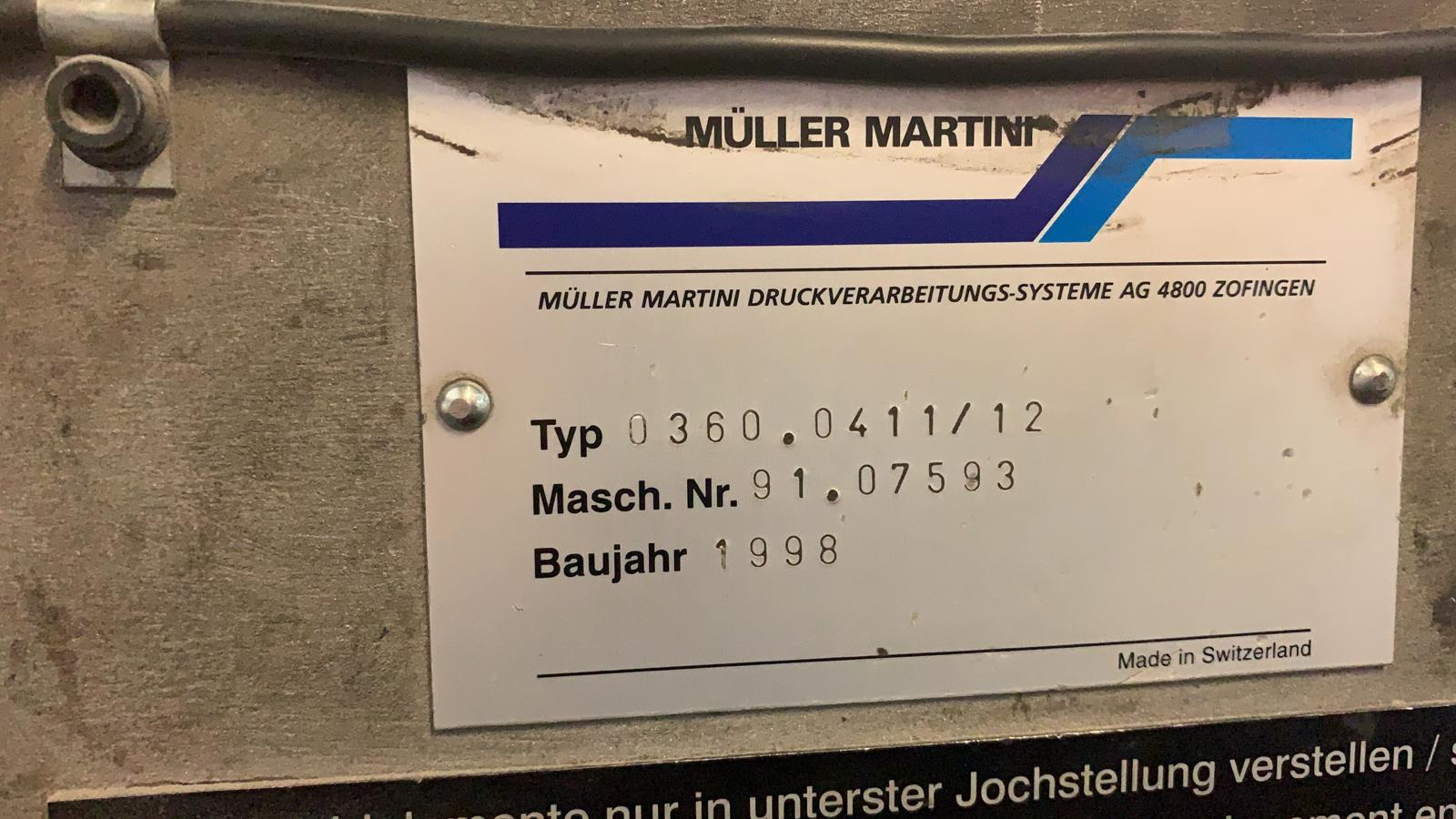 Muller Martini PRIMA-  AMRYS Size