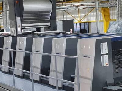 Heidelberg XL105-7+LYY+LYYL Duo Press with Foilstar sold in South Africa