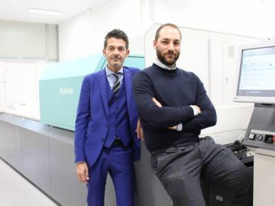 Mediagraf S.p.A bought Fujifilm Jet Press 720 S by Camporese