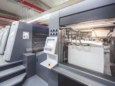 Camporese sold an Heidelberg XL106-8-PLX3 to a Finland Printer