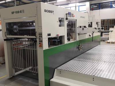 Installation of Bobst SP 104 E