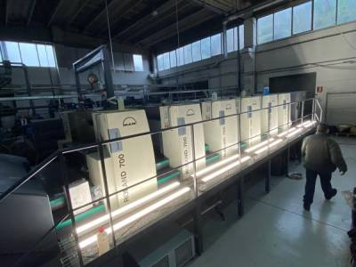 R 705-5LV Direct Drive to a Top South Italy pharma packaging industry