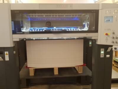 Camporese sold an Heidelberg XL105-5LX-LED-UV to La Grafica of Bergamo (IT)