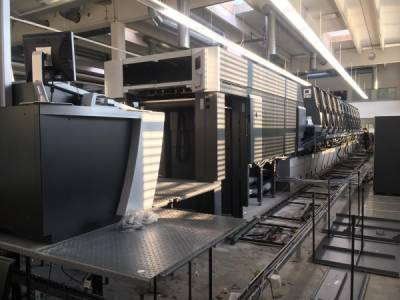 Heidelberg XL105-8+LYYL-UV/IR sold in Usa
