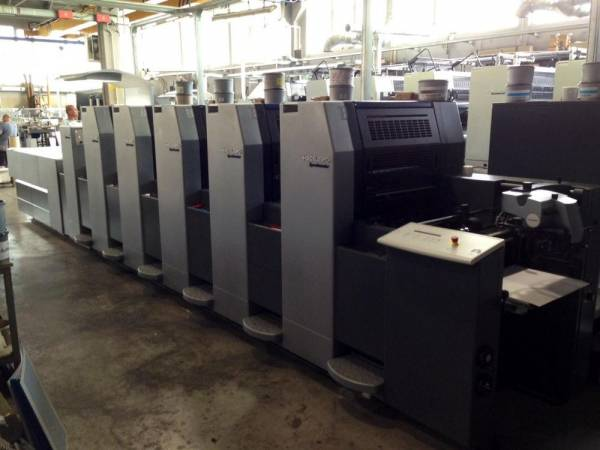 Heidelberg CD102-6LX & SM52-5P2LX from Camporese to Omnia Printer of Milano