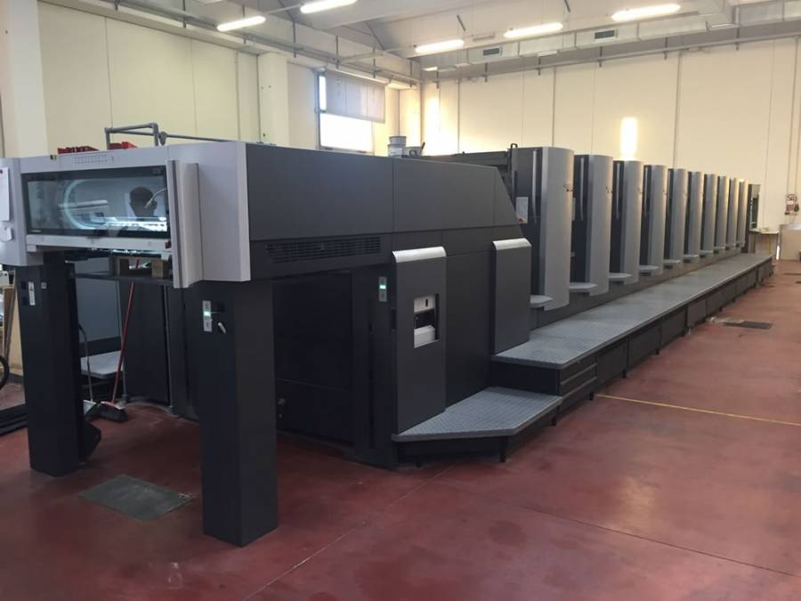 Camporese sold an Heidelberg SM102-10P to AGCM of Pordenone (IT)