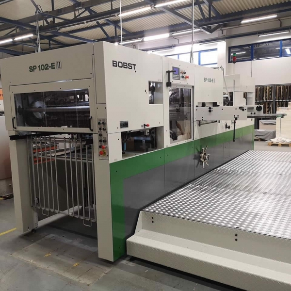 A fully rebuilt die-cutting Bobst SP 104 E to a client in Pordenone (Italy)
