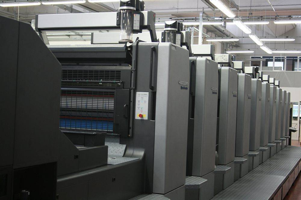 Heidelberg CD102-5 sold to our client in Treviso