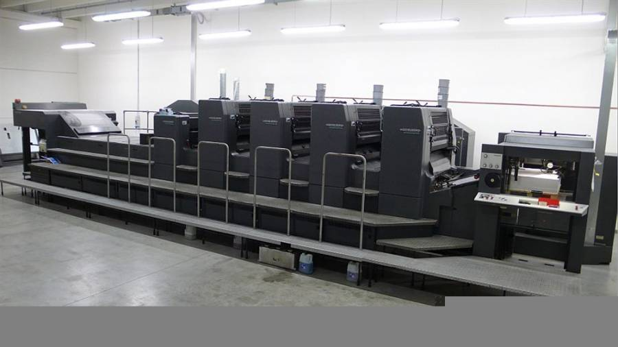 To Eticlass in Treviso an Heidelberg CD102-4LX