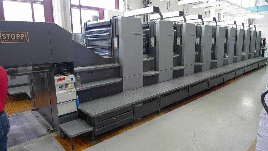 Installed a Heidelberg SM 102-10P in Rome