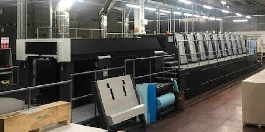 CGV Packaging Industry starts with a new Plastic Division with a Heidelberg XL 105-6+LYYL-UV bought from Camporese fully refurbished