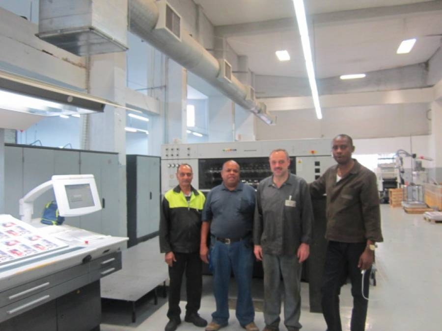 Camporese sold CD102-6LX to a printer in Johannesburg