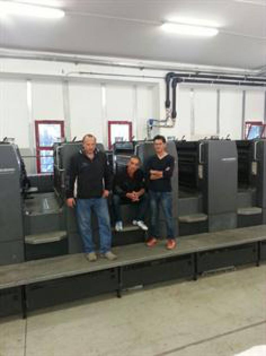 Heidelberg SM 102-5P3 CP2000, Polar 115, Stahl 52 sold in Salerno
